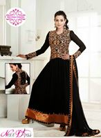 Picture of Smart black anarkali